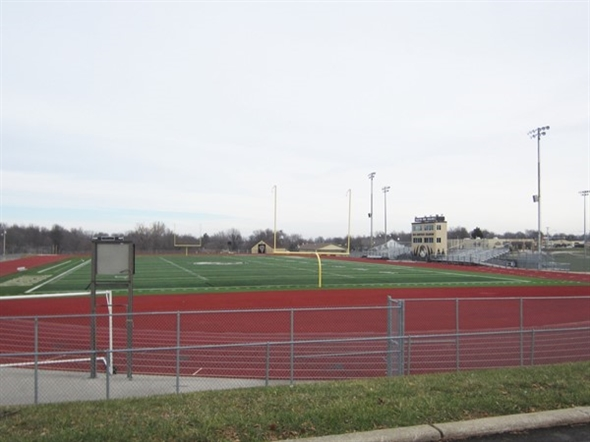 Lee's Summit High School football field
