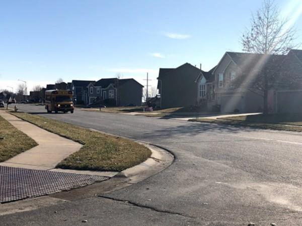 The quiet neighborhood of Sunset Ridge II