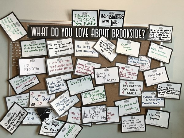 What is there not to love about Brookside?