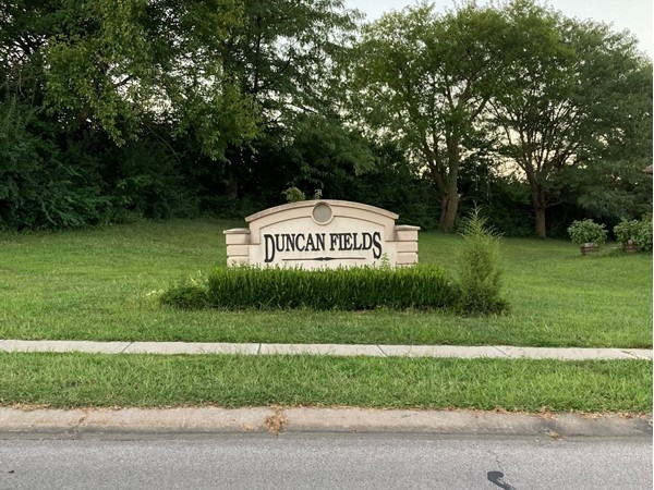 Welcome to Duncan Fields neighborhood in Liberty, MO