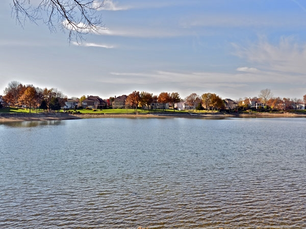 Waterfront living in the Lakewood Community.