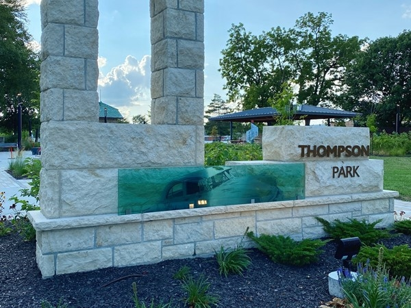 Thompson Park in historic Overland Park