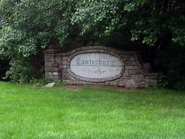 Canterbury South Subdivision