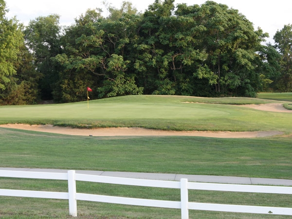 Enjoy a round of golf on the Bonner Springs Sunflower Hills course!