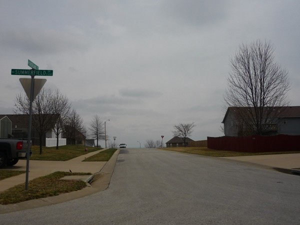 Northeast Overland Drive from Northeast Summerfield Drive