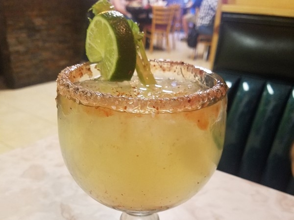 Try a Jalapeño Margarita at Rodeo's restaurant in Basehor to kick up your dinner!
