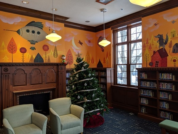 Get cozy at the North Kansas City Public Library