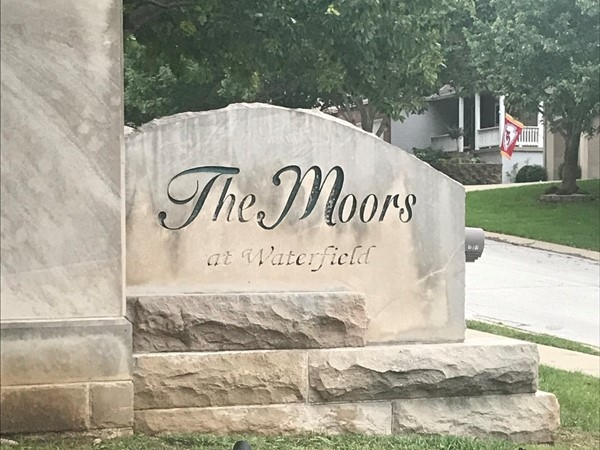 The entrance at The Moors at Waterfield