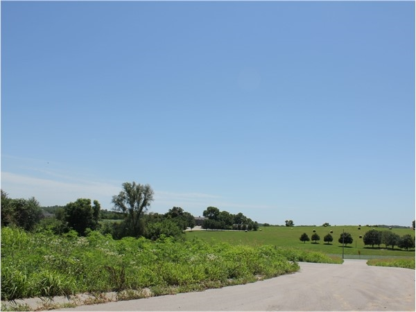 Beautiful view in the Riverview subdivision. Many lots are available with this view