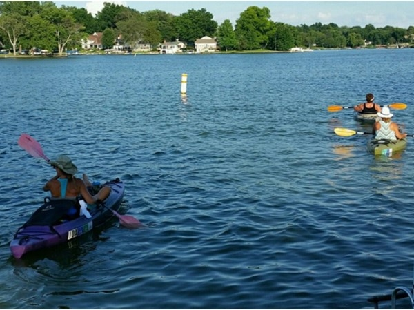 Lake Tapawingo is a great place to kayak!