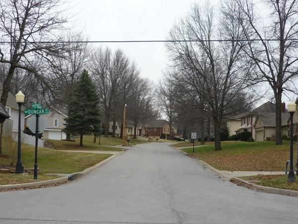 Northwest 12th Street from northwest Duncan Road