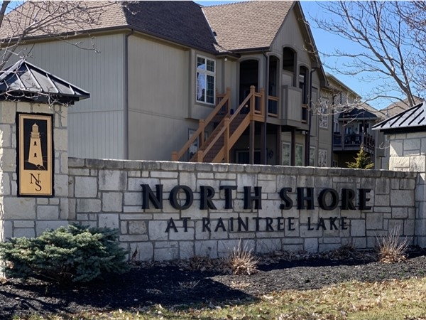 Lake living at its finest! North Shore at Raintree Lake has beautiful homes located on the north end