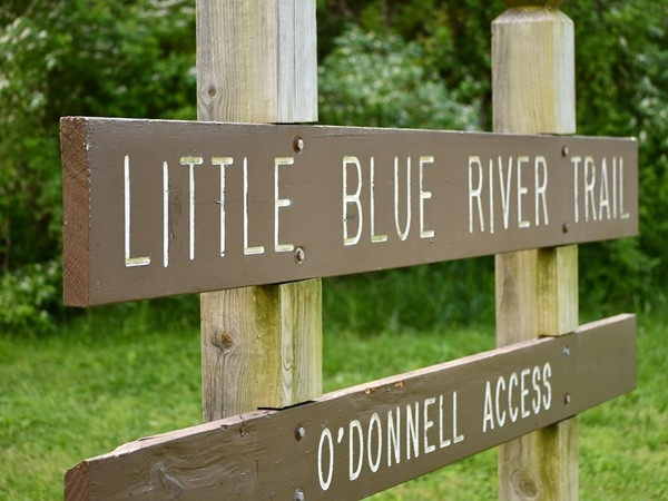Little Blue River Trail is a good place to walk, run, read a book, or just enjoy the great outdoors