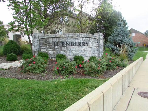 Entrance marker for Turnberry