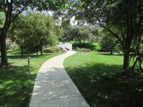 Interior sidewalk through common area