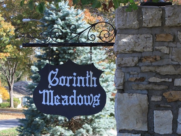 Corinth Meadows is located east of Mission Road and south of 83rd Street in Prairie Village