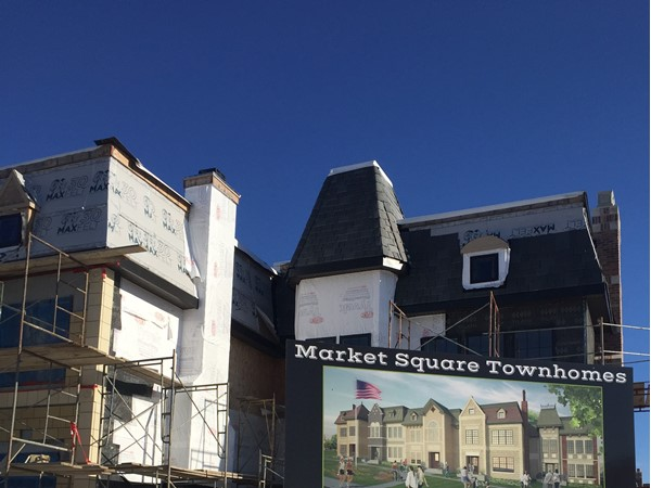 Market Square Townhomes coming soon