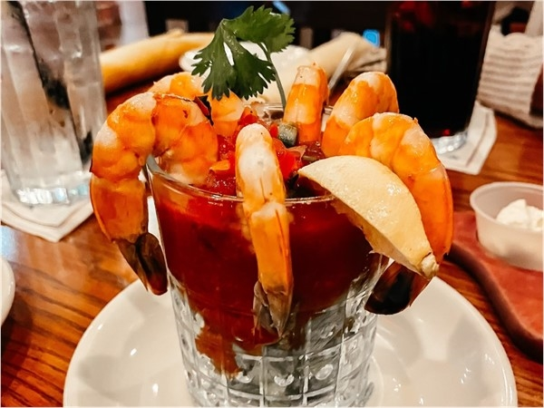 Shrimp Cocktail from Saltgrass Steak House