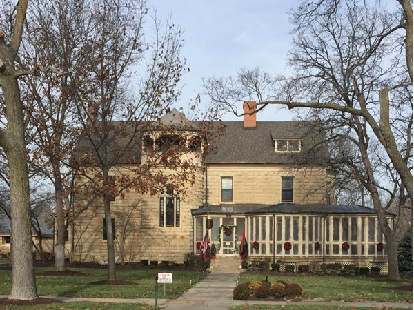 Historic Commanding General's Quarters in Fort Riley