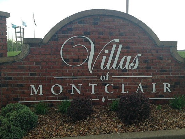 The Villas of Montclair in the spring