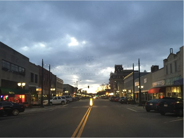 Poyntz at sunset