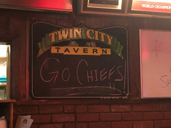 Twin City Tavern. Great little locally owned, neighborhood place that has great food and staff