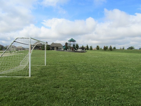 Parkway Estates also offers a small practice field for soccer. Make this your home