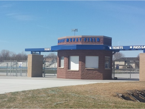 Football and track for Grain Valley High School