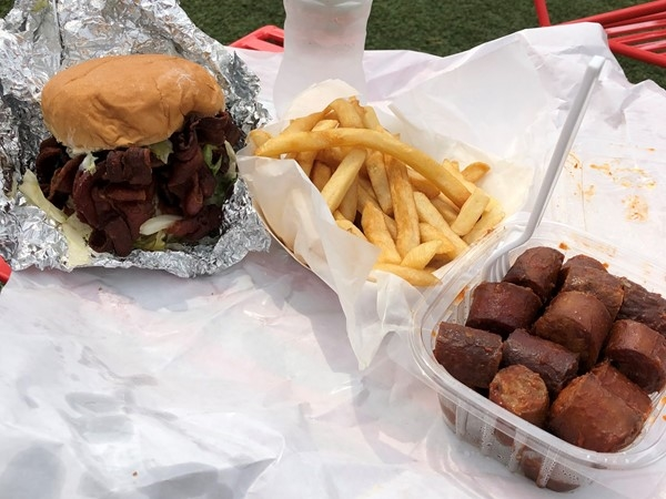 Grab lunch at Fritz's Meats on 103rd and State Line, you won't be disappointed