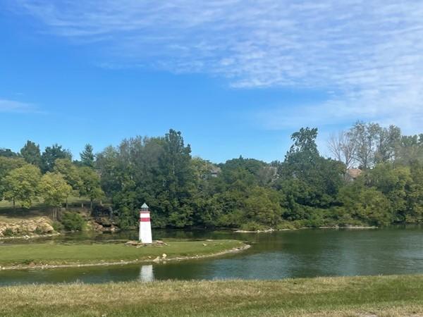 Lake at Charleston Harbor
