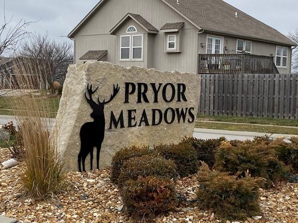 Second entrance to Prior Meadows