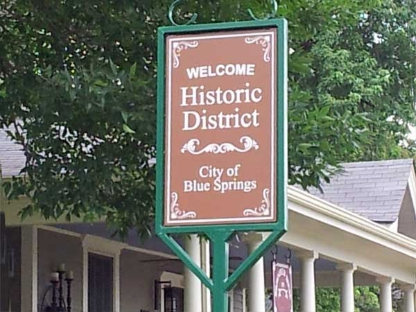 Blue Springs Historic District