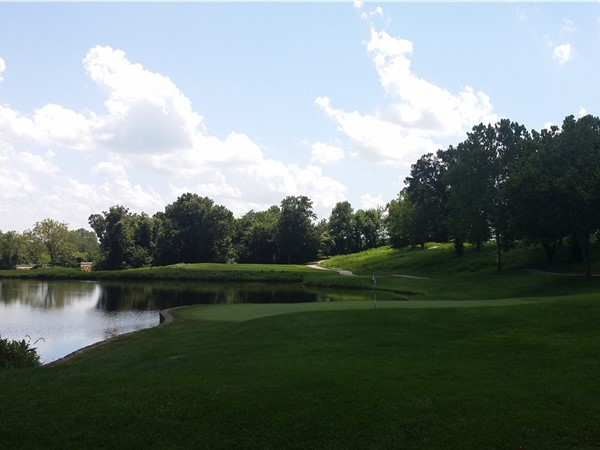 Beautiful golf course at The National subdivision