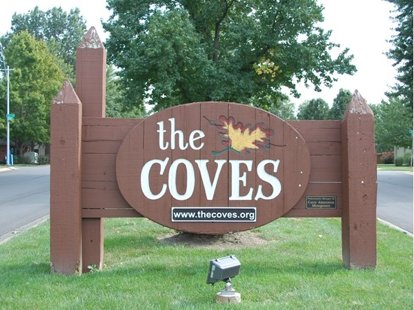 The Coves is an older but classic community with a clubhouse, pool, swim team and two lakes