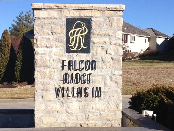 Entrance to Falcon Ridge Villas