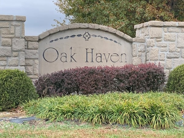 Welcome  to Oak Haven