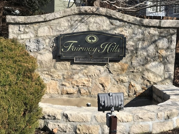 Welcome to Fairway Hills subdivision