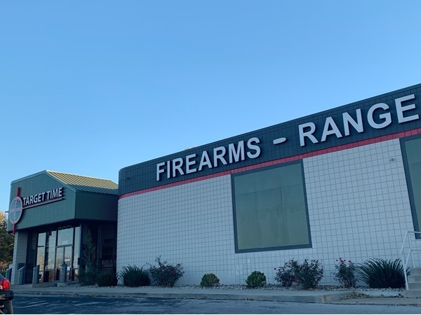 Target Time Defense is a local Blue Springs shooting range