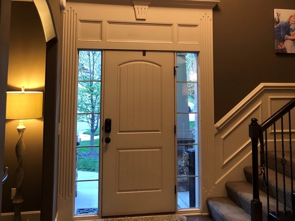 Love my entry way and the tall ceilings
