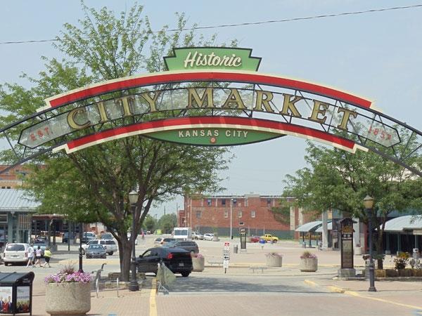 The historic City Market
