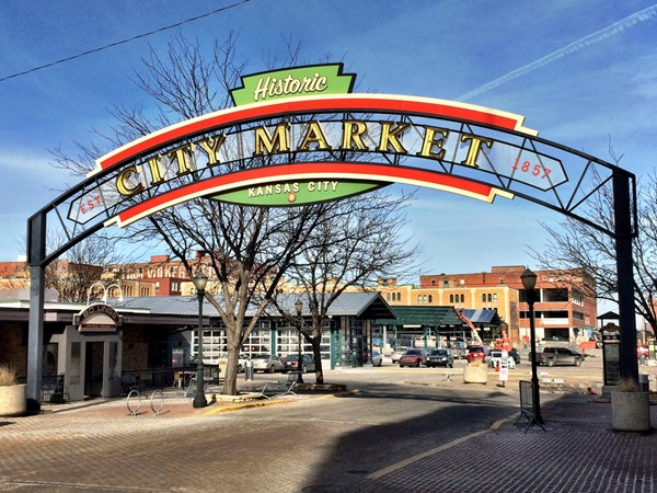Kansas City's River Market is a busy area where you'll find a vibrant farmer's market