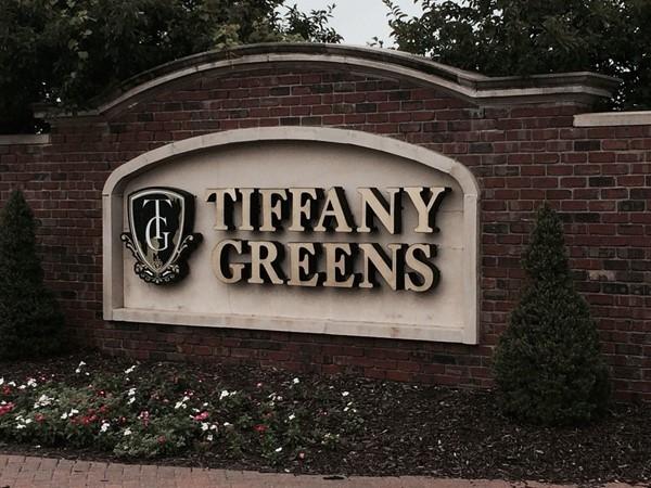Tiffany Greens entrance