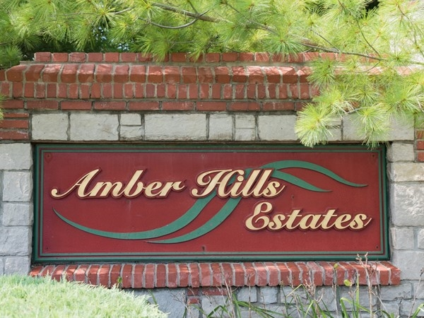 Welcome to Amber Hills Estates