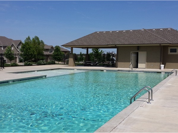 Ready for a refreshing dip in the Prairie Brook subdivision pool?