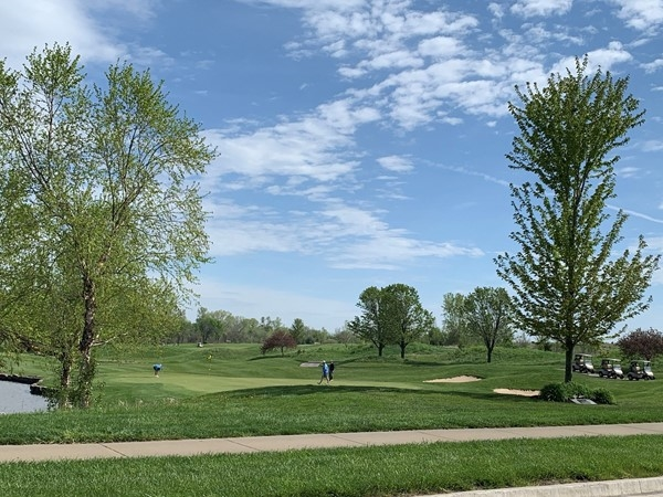 Falcon Lakes in Basehor has a beautiful golf course