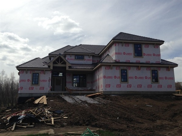 New construction in Shoal Creek Valley