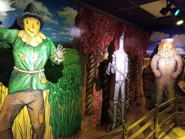 The Wizard of Oz playhouse, located inside Crown Center, in Kansas City, Missouri