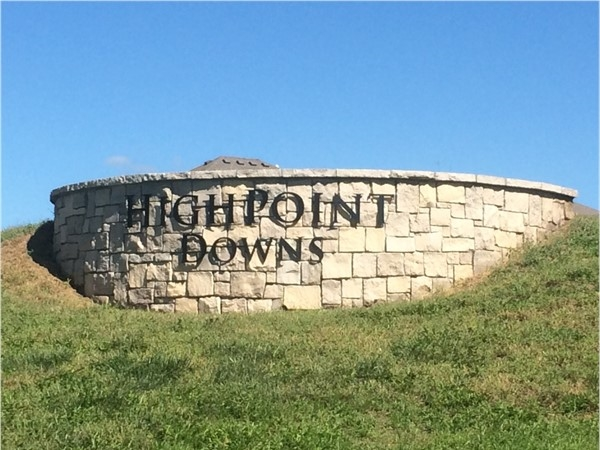 Welcome to High Point Downs