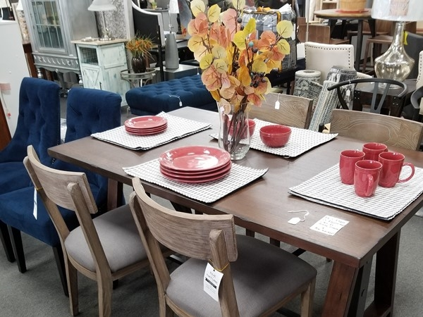 A home furnishings super store, inside Mary Margaret's, in Lee's Summit