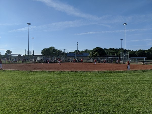 Little League baseball at Happy Rock Park